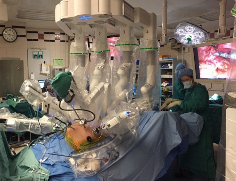 Robotic Surgery Using da Vinci